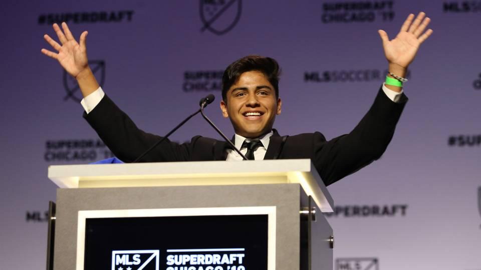 Frankie Amaya MLS Draft 1 01112019
