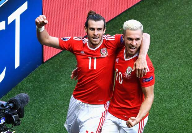 Gareth Bale i Aaron Ramsey