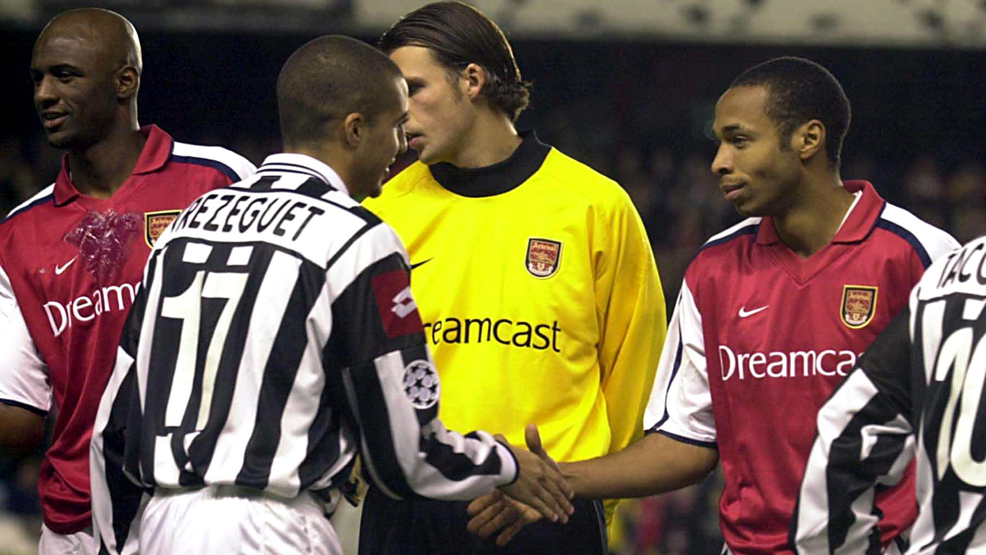 Thierry Henry David Trezeguet Arsenal Juventus