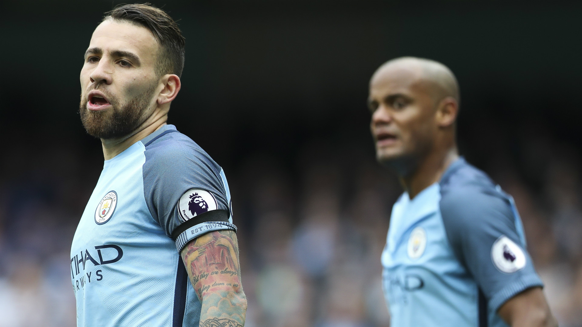 Nicolas Otamendi Manchester City Premier League