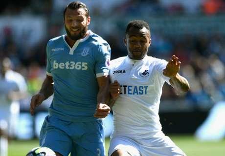 Jordan grabs assist as Swansea eye survival