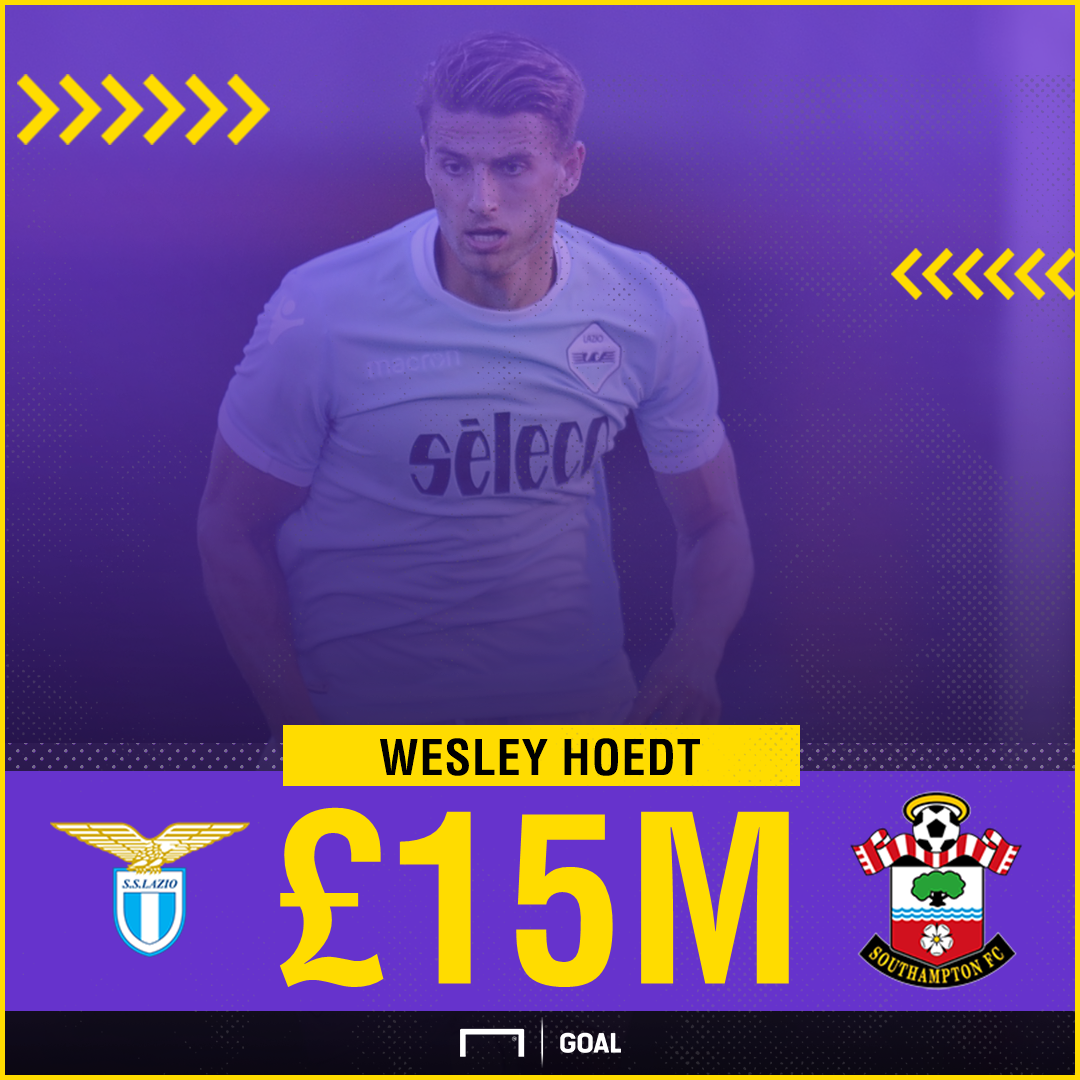 Southampton sign Lazio centre-back Hoedt