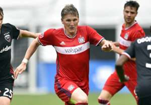 German star Bastian Schweinsteiger is joined by Chicago Fire teammates Matt Polster and David Accam in Goal's latest MLS Team of the Week