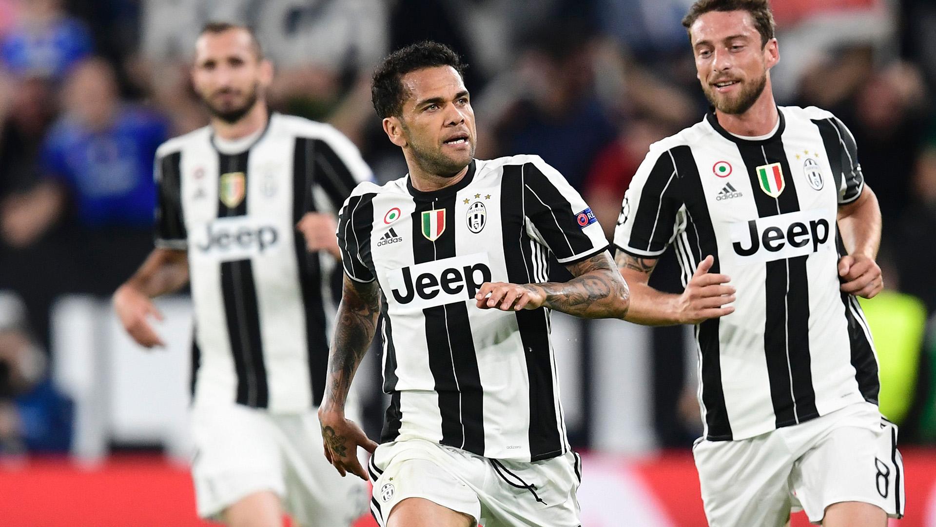 Dani Alves Juventus Monaco Champions League