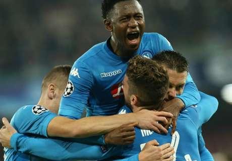 Napoli aggrappato alla Champions: 3-0 allo Shakhtar