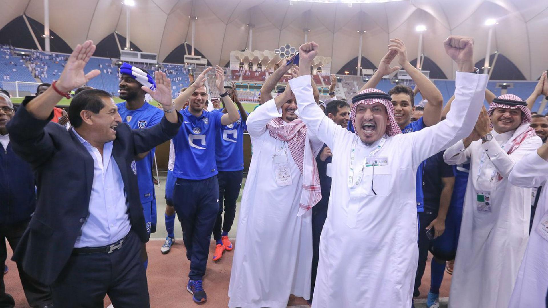 Ramón Díaz, campeón en Arabia Saudita