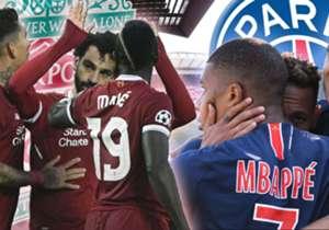 Mohamed Salah, Roberto Firmino und Sadio Mane bei Liverpool sowie Kylian Mbappe, Neymar und Cavani bei PSG: Die beiden Top-Angriffsreihen stehen sich am Dienstag in der Champions League gegenüber. Aber welches Sturmtrio hatte in der Saison 2017/18 wett...