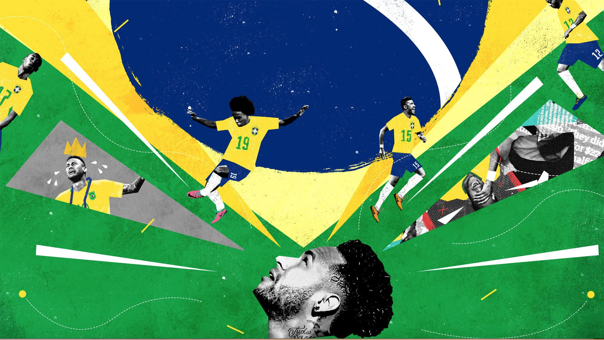 Neymar &the resurrection of Brazil