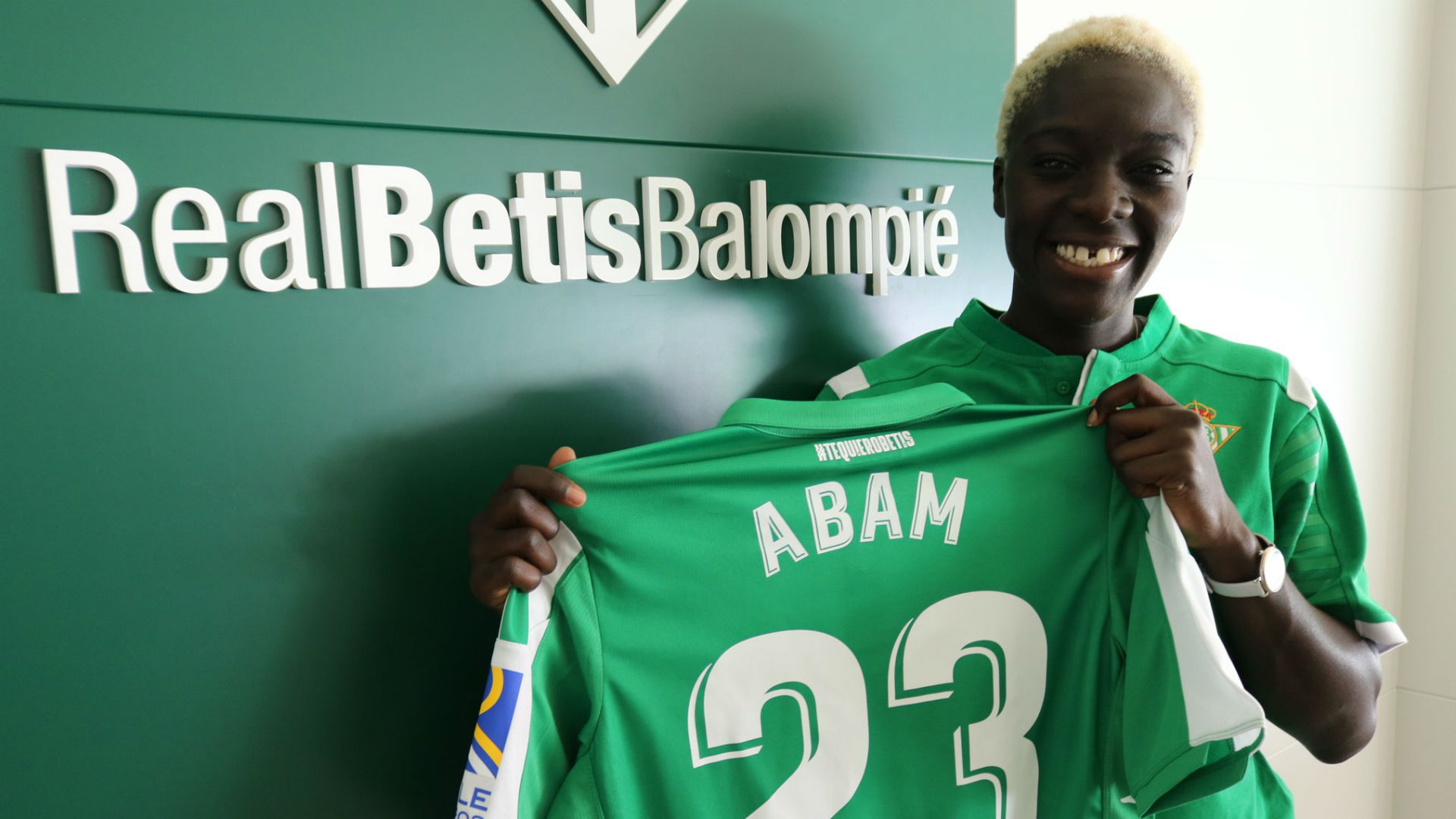 Michaela Abam opens Real Betis goal account against Deportivo de La Coruna