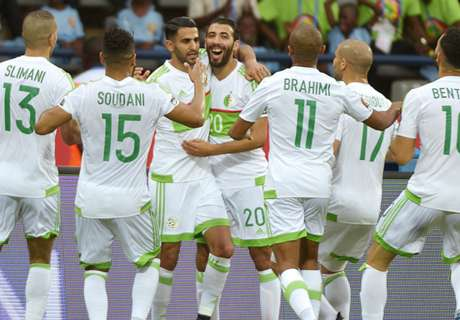 Mahrez rescues a point for Algeria