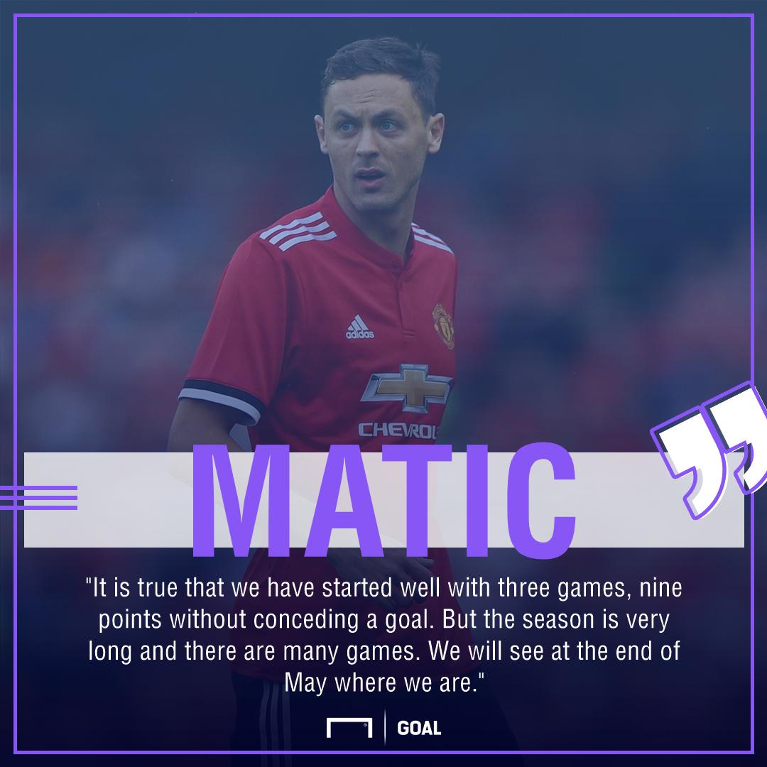 Nemanja Matic Manchester United title