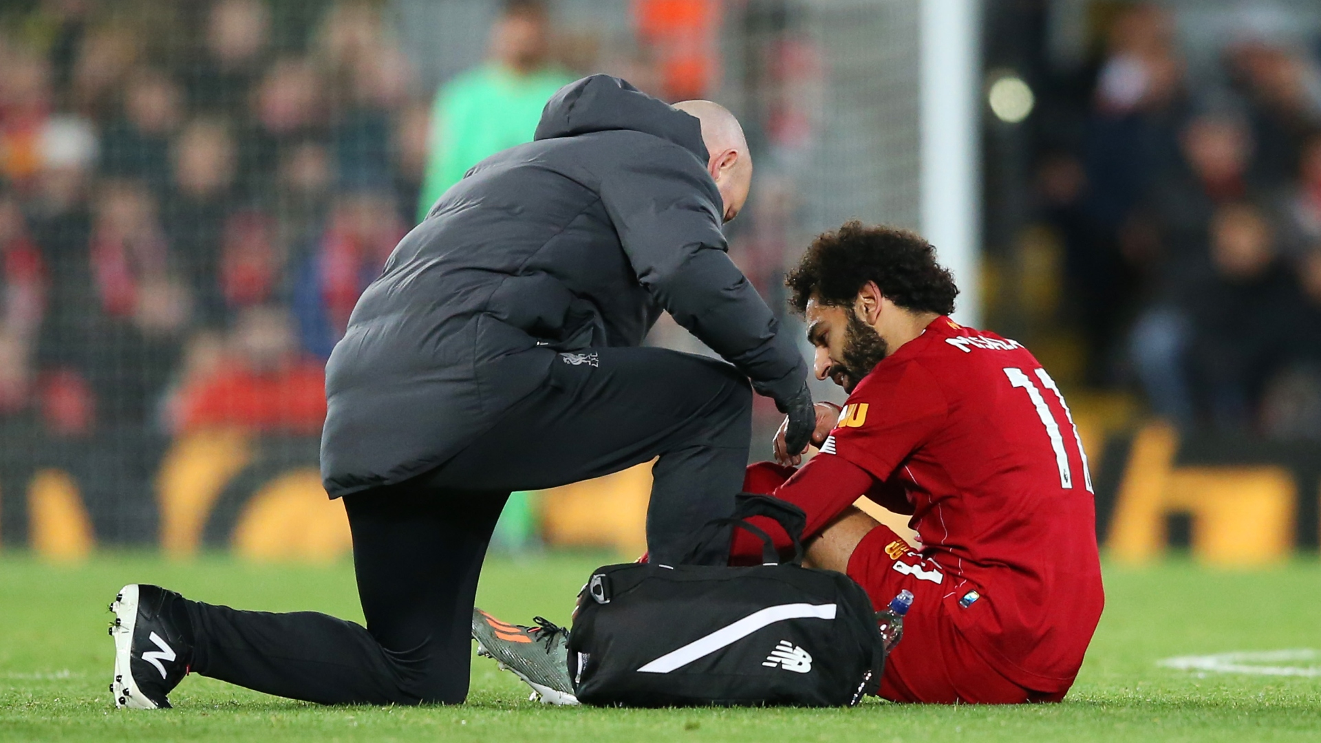 Liverpool star Salah's return date from injury not clear
