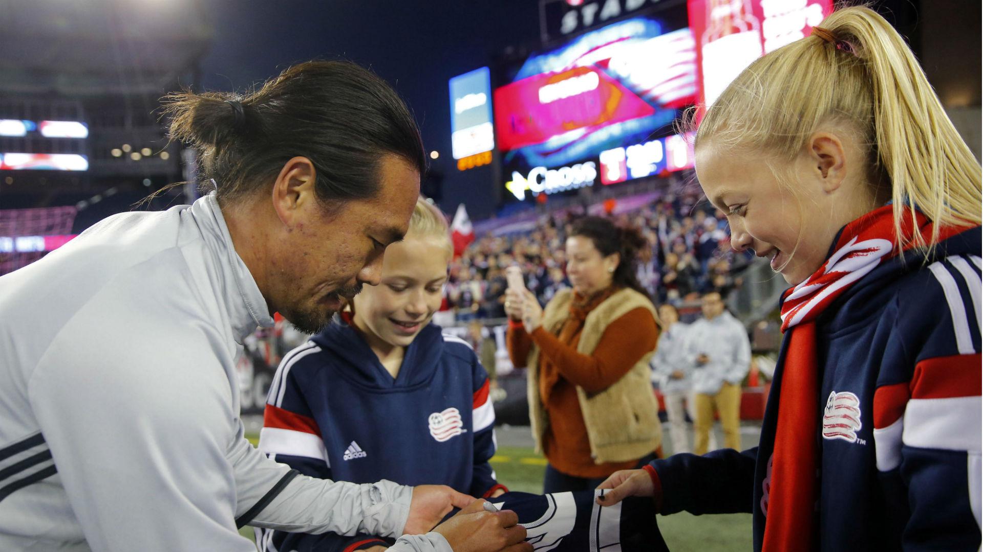 Daigo Kobayashi New England Revolution MLS 102316