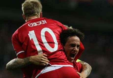 Denemarken zet stap richting WK