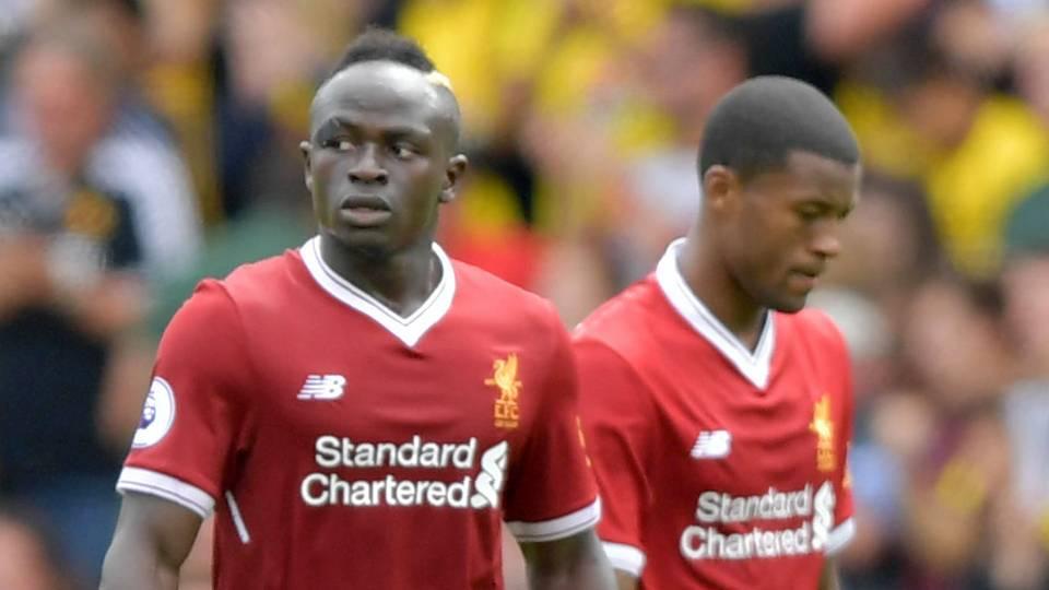 Sadio Mane Gini Wijnaldum Liverpool Watford