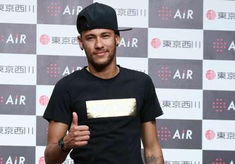 Los nuevos tatuajes de Neymar