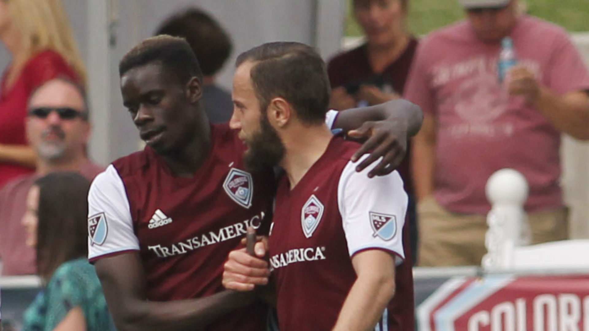 Dominique Badji Shkelzen Gashi Colorado Rapids MLS 051317