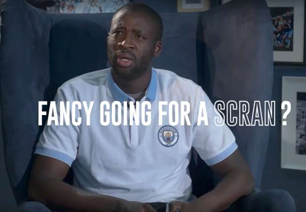 VIDEO: That's bobbins! Yaya Toure learns Manchester slang in hilarious video