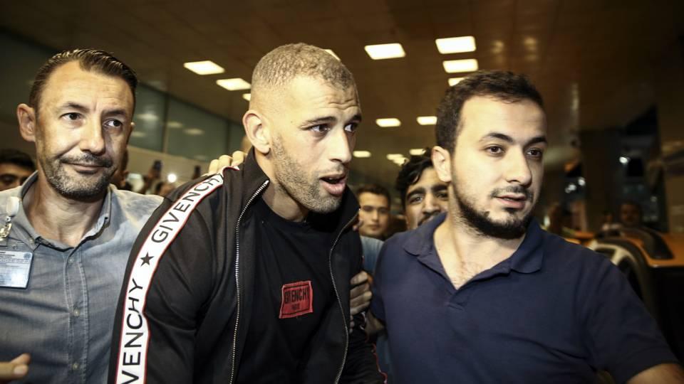 Islam Slimani at Istanbul 08112018