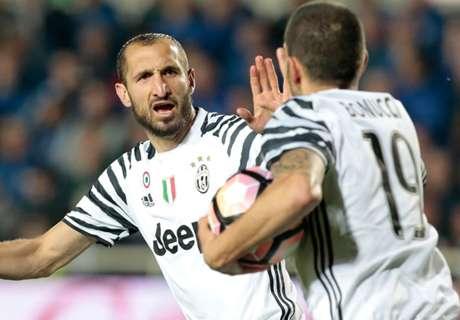 Chiellini reaches Serie A milestone