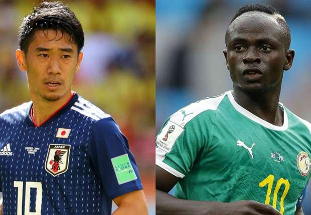 Jepang VS Segnegal Berimbang 2 - 2