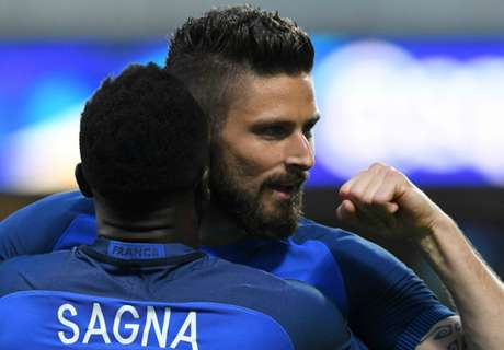 Amistoso: Francia 3-0 Escocia