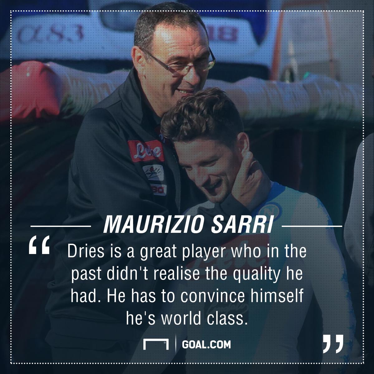 Dries Mertens Sarri Napoli PS
