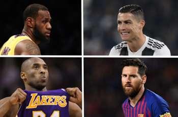 'LeBron James the Ronaldo of basketball, Kobe Bryant the Messi' - NBA star Satoransky