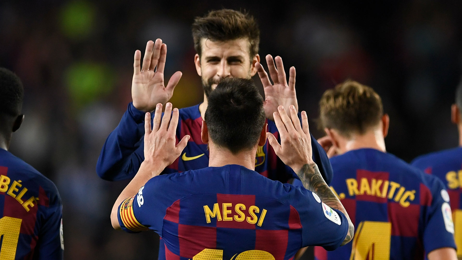 Pique plays down talk of mixed messages with Messi and admits to Neymar 'fear'