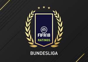 Découvrez les 30 joueurs de Bundesliga les mieux notés de FIFA 18 avec notamment Lewandowski, Robben, Aubameyang et Brandt.