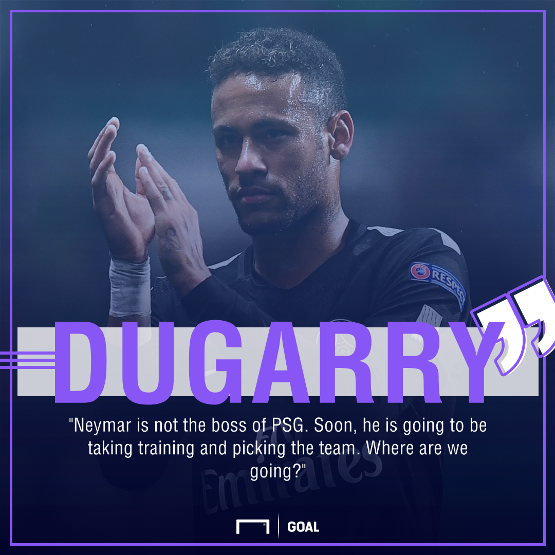 Neymar left out of PSG squad for the tie against Montpellier