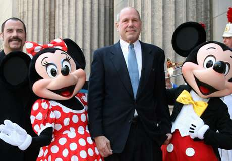 Pompey in talks with ex-Disney boss