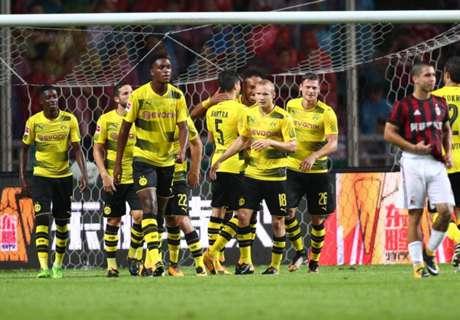 FT: AC Milan 1-3 Borussia Dortmund