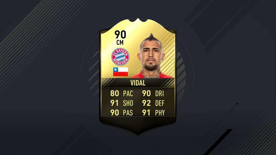 TOTW Vidal - Goal.com Soccerway Nl