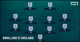 GFX Chris Smalling's England XI