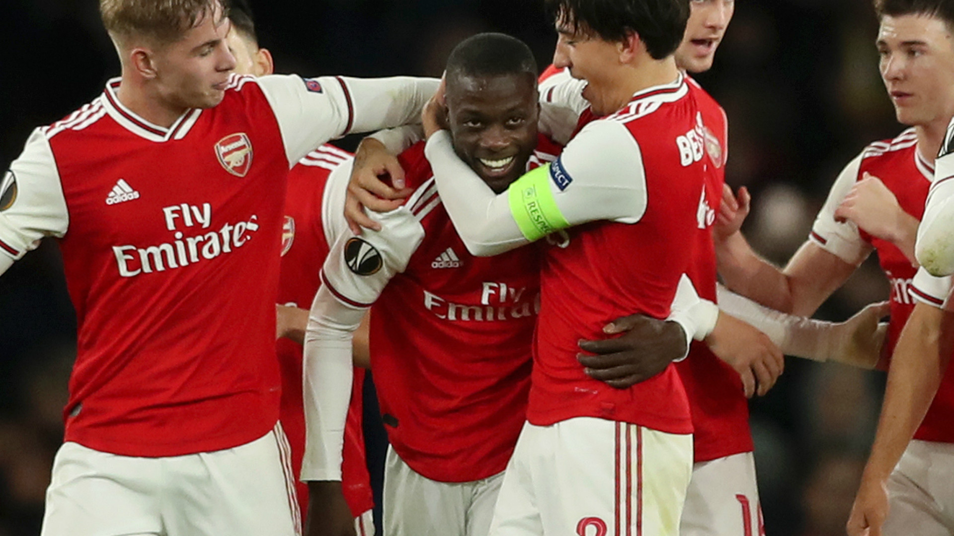 Pepe matches Saka for the most Arsenal assists this season