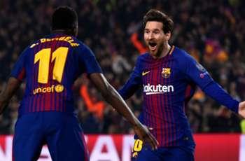 Messi believes Barcelona 'need' Dembele amid Arsenal transfer talk