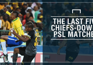 PSL heavyweights Kaizer Chiefs and Mamelodi Sundowns will lock horns at the FNB Stadium on Saturday, and Goal takes a look at their last five league matches.