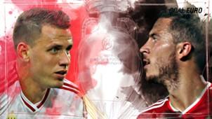 GFX EURO16 Hungary Belgium Euro 2016