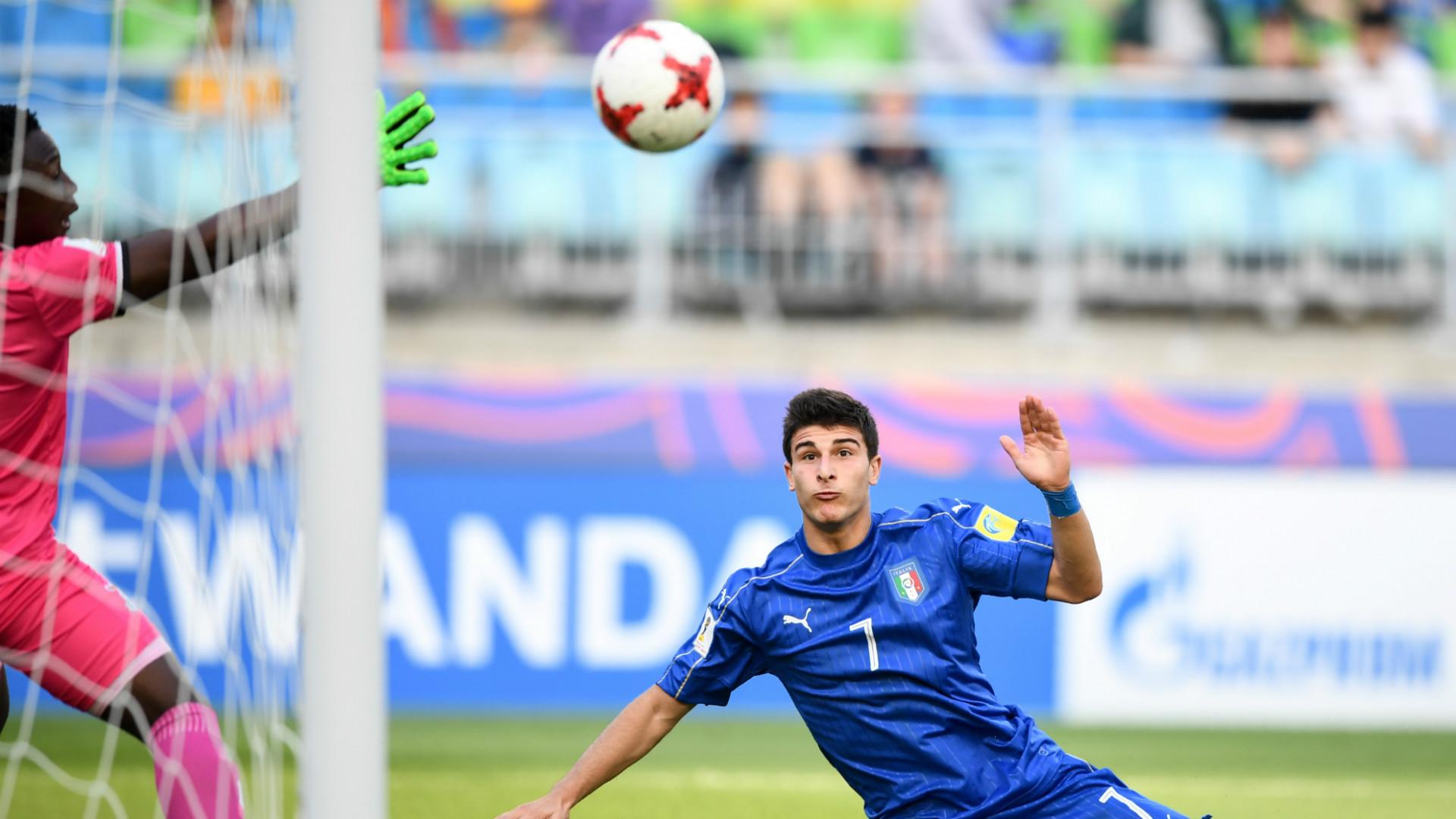 Riccardo Orsolini Italy Zambia U20