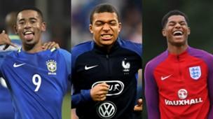 collage U20-Topteams