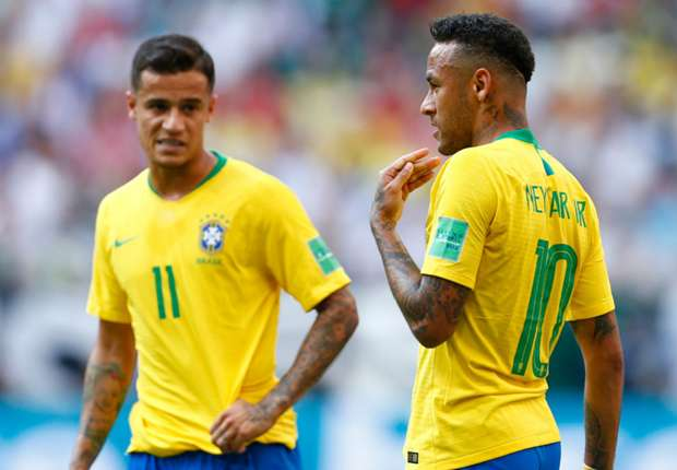 Neymar, Coutinho, Casemiro, and Marquinhos - the backbone of Brazil's future