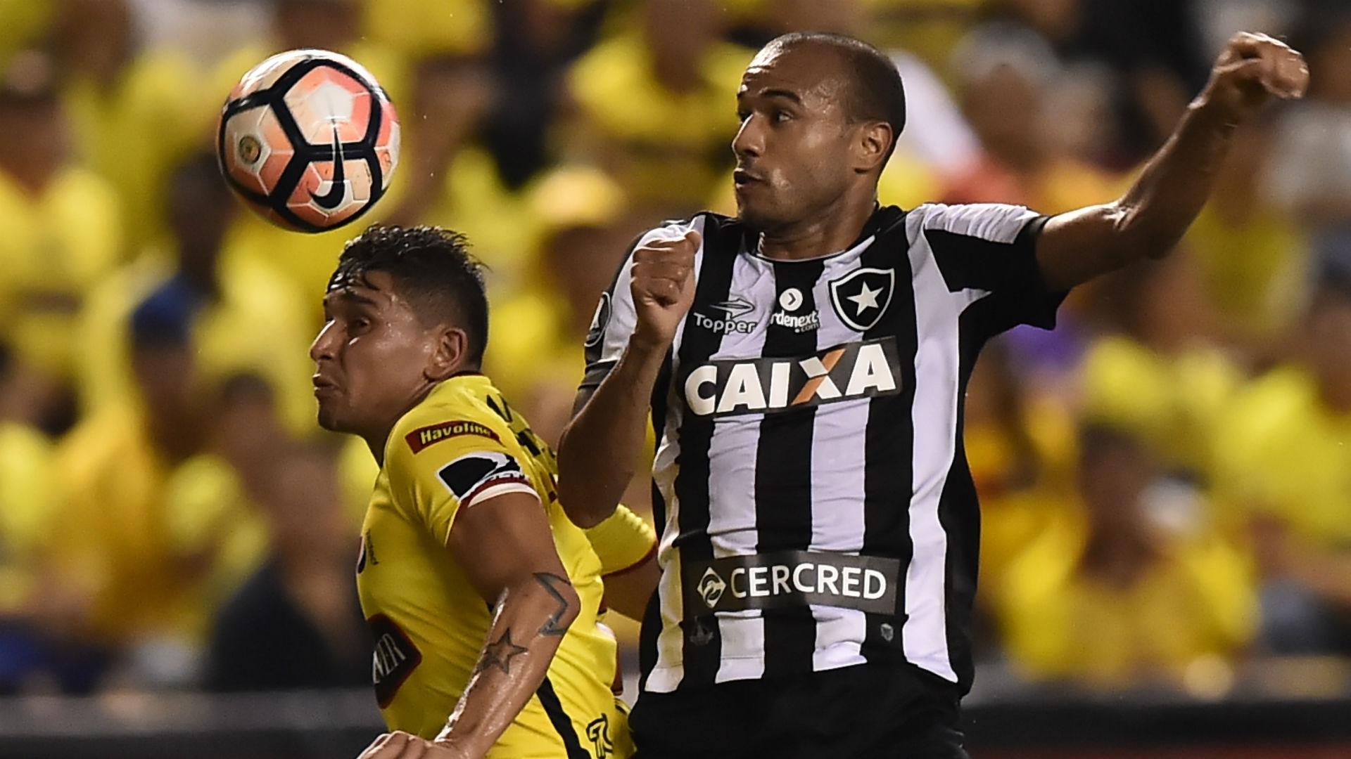 Roger Botafogo Barcelona Libertadores 21 04 2017
