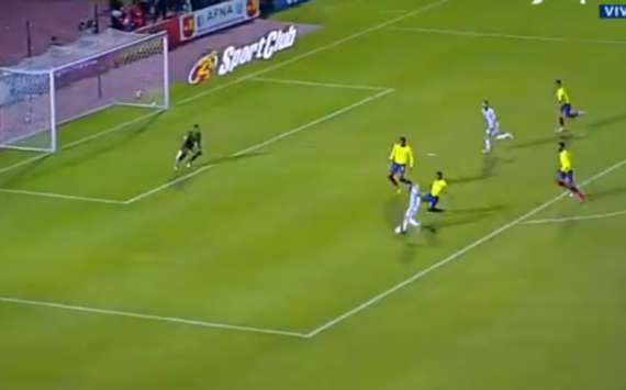 VIDEO: ¡Siempre Messi! Leo dio vuelta el partido contra Ecuador