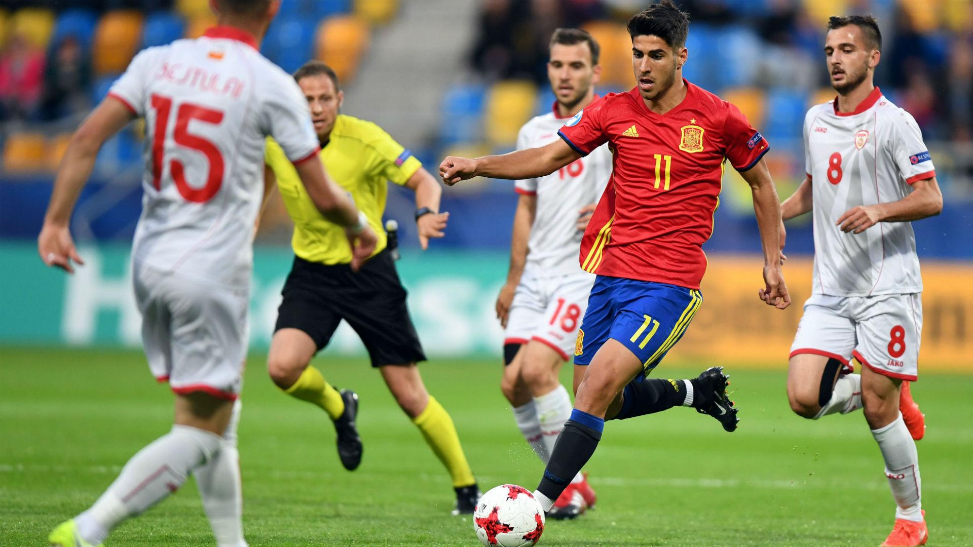 Marco Asensio Spain Macedonia Under-21