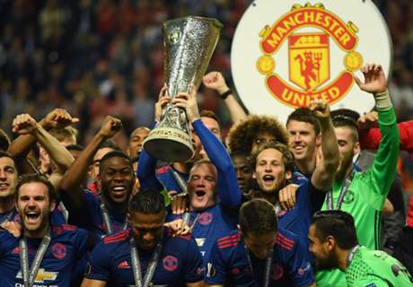 Man Utd complete historic treble