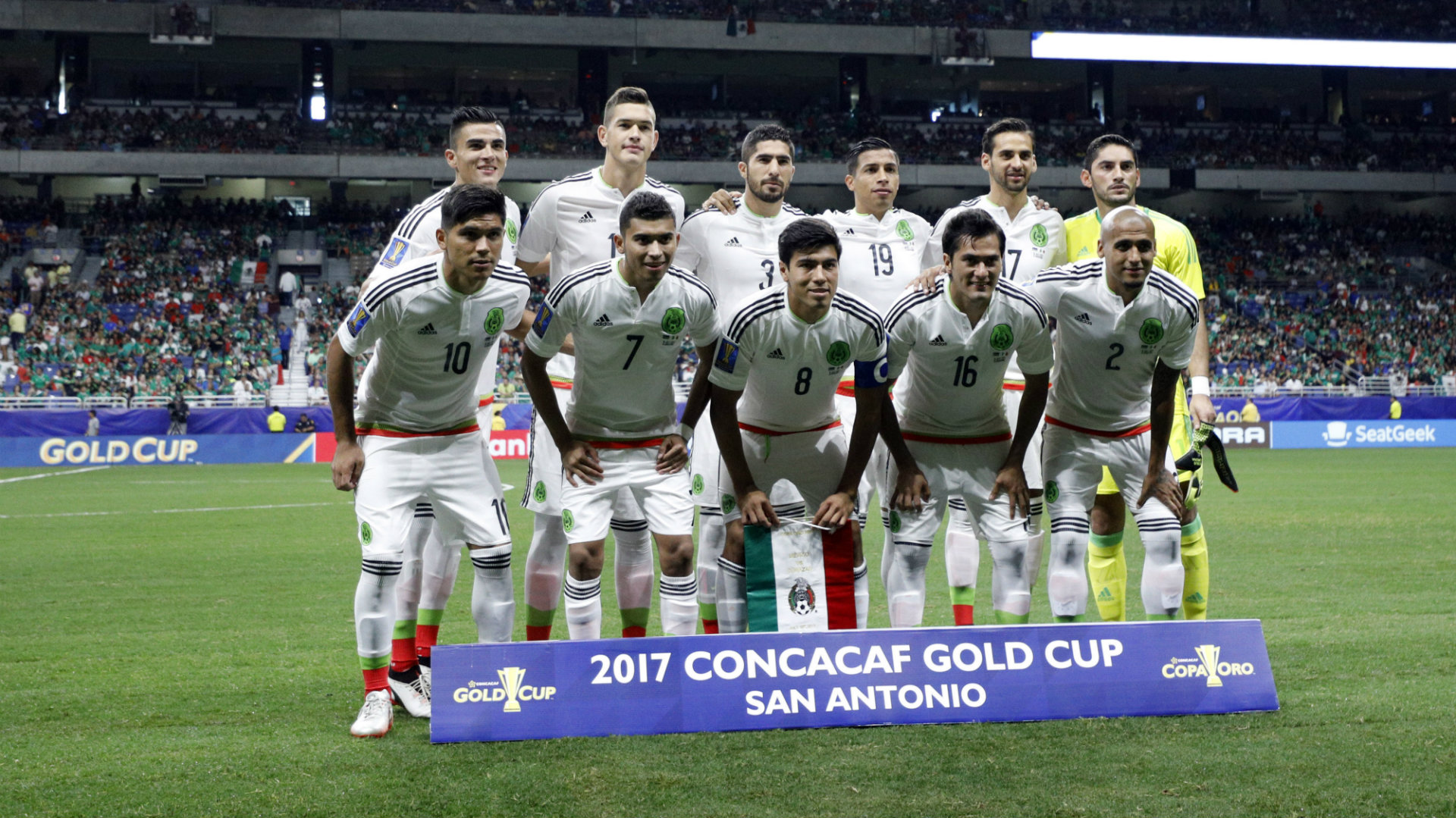 Mexico starting XI