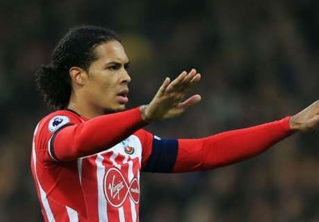 Van Dijk asked to leave Southampton
