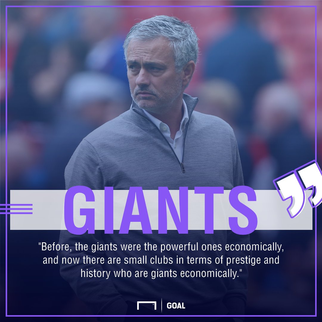 Jose Mourinho Manchester United money giants