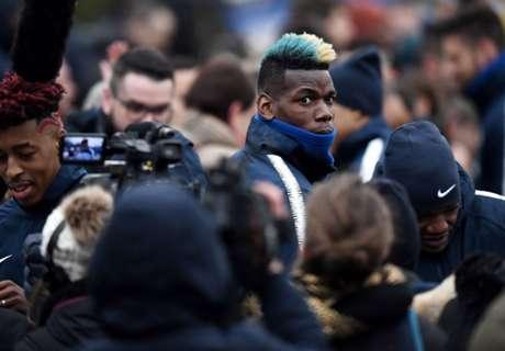 En difficulté avec Mourinho, Pogba doit ouvrir la parenthèse bleue